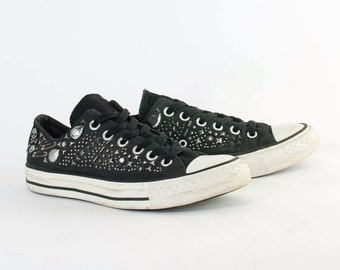 Vintage 90's Converse All Star Lo Trainers Stud Women's UK 5.5 EU 38 US 7.5