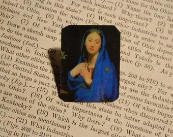Mary Lapel Pin Brooch Inspirational jewelry