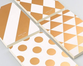 Gold Traveler's Notebook Journal Notes Cover Travel Diary Sketchbook Planner Insert Notebook