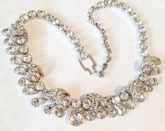 Eisenberg Glass Necklace Vintage Jewelry SUMMER SALE