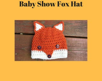 Fox Beanie - 3 to 6 months