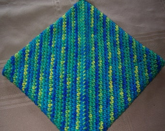 Crochet Potholder, Crochet Hotpad, Crochet Hot Pad, Trivet, Housewarming Gift, Home Decor, Potholder, Hotpad, Hot Pad