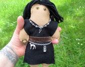 Hecate Poppet - Voodoo Doll, Juju Doll, Spirit Doll, Magic Doll, Goddess Doll