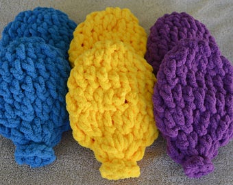 Reusable Crocheted Water Balloons Eco-Friendly Set of 6