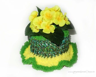 Toilet paper cover WITH FLOWERS