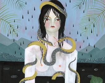 PAINTING - The Rainy Season - Lisa Vanin