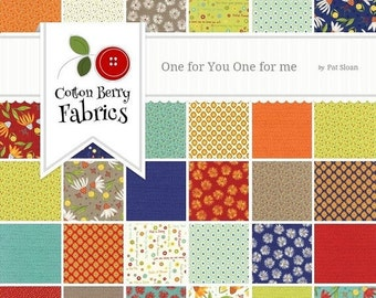 SALE One for You, One for Me Layer Cake by Pat Sloan for Moda - One Layer Cake - 43040LC