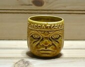 Vintage Tiki Shot Glass Olmeca Tequila Barware Lula Party Supply Hawaiian Cocktail Toothpick Holder Alcohol Collectible