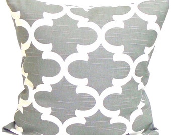 GRAY PILLOW, Grey Pillow, Pillow Cover, Decorative Pillow, Gray Throw Pillow, Grey Pillow, Gray Accent Pillow, All Sizes, Grey Euro, Cushion