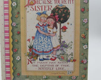 Vintage Mary Englebreit Sisterly Love Book,  NOS Mary Englebreit Collectible Book with Original Jacket, Sister Gift, Birthday Gift Sister