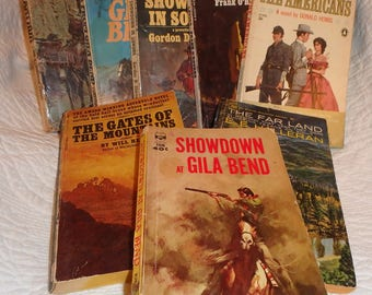 Pulp Fiction:Eight Paperback Westerns 1960's