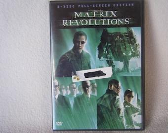 DVD Movie Matrix Revolutions - Used