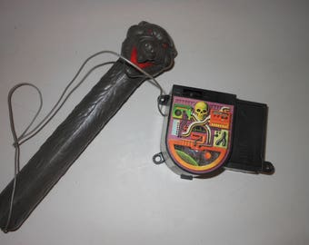 1980's Snake Mountain microphone - works - Skeletor He-Man masters of the universe 80s toy
