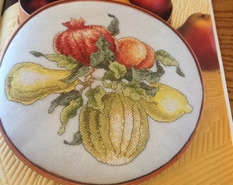 Fruit Of The Season - Cross Stitch Pattern Only