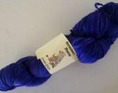 Eman Sock - 4ply fingering weight plied sock yarn - Deep Purple