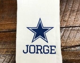 Dallas Cowboys Burp Cloth Rag