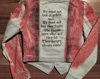 Goblin Market OOAK Jacket