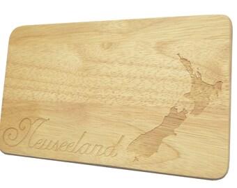 Bread Board New Zealand New Zealand breakfast Board - breakfast board - engraving