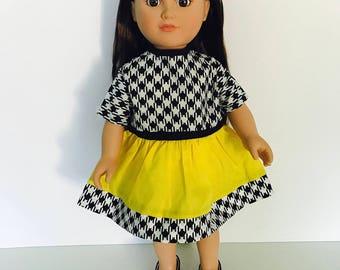American Girl, 18 inch doll dress.