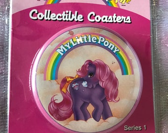 Vintage My Little Pony Collectible Coasters