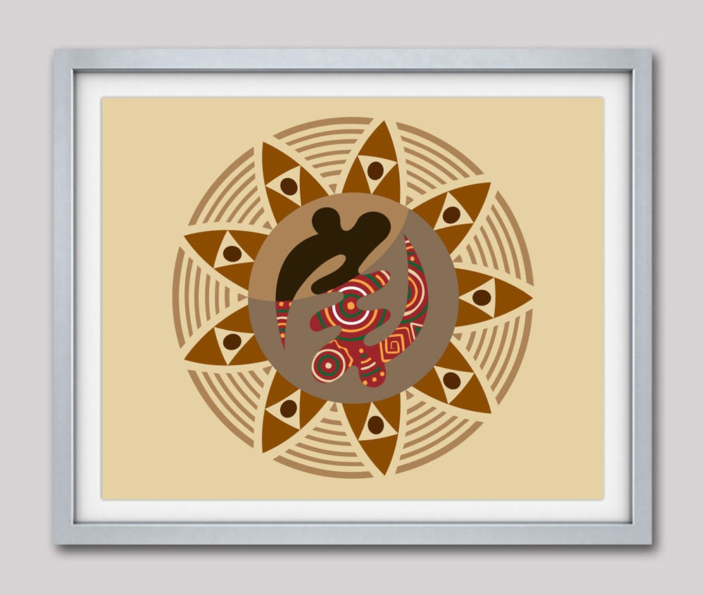 African Symbols, Adinkra Symbols Gye Nyame, Modern African Pop Art, African  American Wall Decor, African Wall Hanging, African Wall Art
