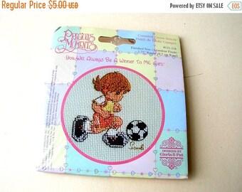 Soccer Cross Stitch Kit