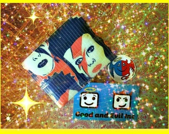 David Bowie, Duct Tape Wallet, Life on Mars, Good and Evil Creations, Bowie, Glitter Rock