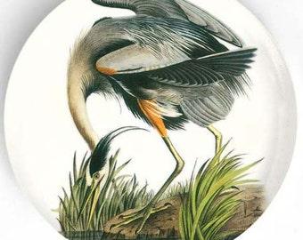 Audubon Great Blue Heron melamine dinnerware