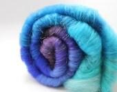 Blueberry Muffin - Art Batt - Merino and Sparkle - Spinning Mermaid - 2.8 oz