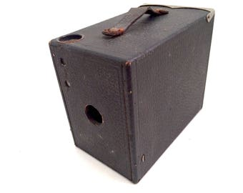 Ansco Buster Brown 2A, 1916, Wooden Camera