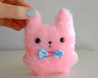 New cute pink bunny plush doll