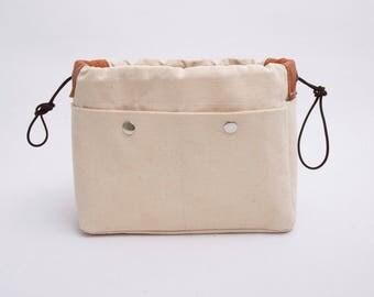 Purse insert organizer for MANSUR GAVRIEL ,bag insert organizer  ,make up bag , EXPRESS shipping