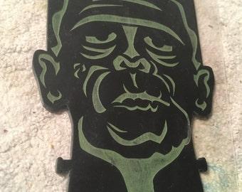 Frankenstein's Monster, Acrylic, Laser Cut, Halloween, Sci Fi, Horror, Ornament