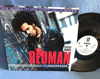 Rare Vintage Run Dmc Raising Hell Vinyl Lp