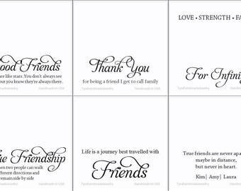 Custom greeting card,custom jewelry note card,custom message card,