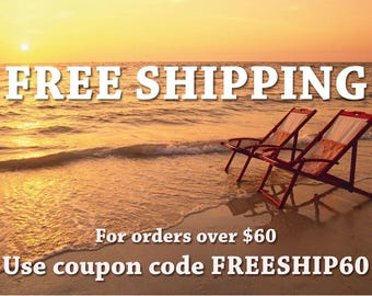 FREE SHIPPING coupon code - Please, do not purchase this item!