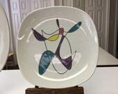 Reserved for Karen-Poppytrail California Mobile hand painter dinner plate