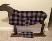Greyhound fleece coat with detachable snood