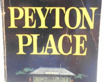 Vintage Peyton Place Paperback, 9th Dell Printing (20) February 1958, By Grace Metalious