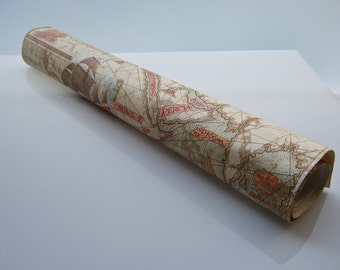 Old world map wallpaper   1970s