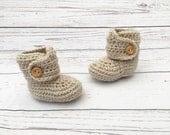 unisex baby booties | baby announcement | crochet booties | baby gift | crochet baby shoes | newborn booties
