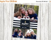 25% OFF Photo Christmas Card - Three photo