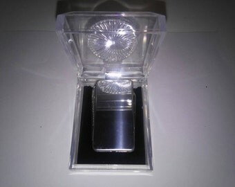1 Silverplated Money Clip with Knives