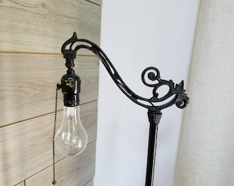 Antique Floor Lamp Black Floor lamp