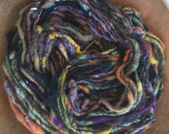 Medley, Handspun Art Yarn,  Super Bulky, Y222
