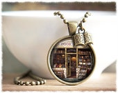 Book Necklace • Book Lover Gift • Literary Necklace • Writer Necklace • Reader Gift • Book Pendant