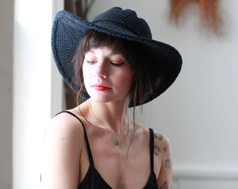Mothers Day Gifts, Black Hat, Womens Sun Hats, Travel Accessories, Chic Style, Black Wide Brim Hat