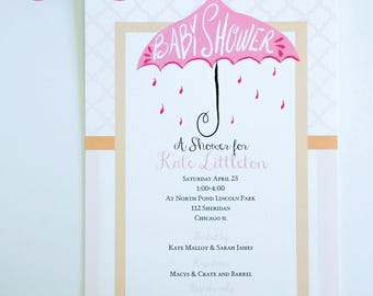 BABY SHOWER INVITATIONS - Boy or Girl or Neutral
