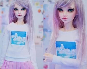 Slim MSD Minifee or SD BJD Sweater - Dream Clouds
