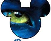 Disney T-Shirt Iron on Avatar Pandora 2 Mickey Head Custom Personalized  Transfer Decal (iron on transfer, not digital download)